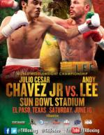 Julio Cesar Chavez Jr. vs. Andy Lee Poster