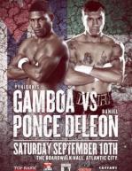 Yuriorkis Gamboa vs. Daniel Ponce De Leon Fight Poster