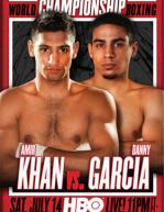 Amir Khan vs. Danny Garcia Poster