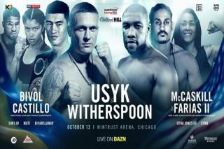 Oleksandr Usyk vs Chazz Witherspoon