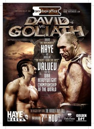 David vs. Goliath: Nikolai Valuev vs. David Haye