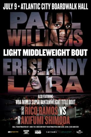 Paul Williams vs. Erislandy Lara