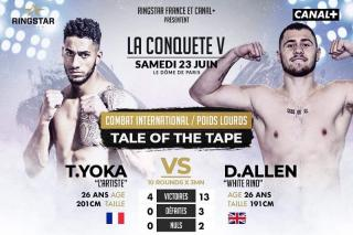 Tony Yoka vs Dave Allen