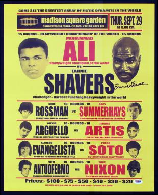 Muhammad Ali vs. Earnie Shavers