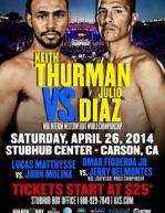 Keith Thurman vs. Julio Diaz