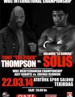 Tony Thompson vs. Odlanier Solis Poster