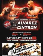 Saul Alvarez vs. Kermit Cintron Fight Poster