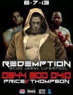 Redemption: David Price vs. Tony Thompson II Poster