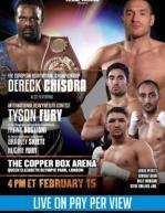 Tyson Fury vs. Gonzalo Omar Basile Poster